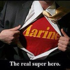 The real superhero....