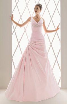 Buleria-pink weddingdress