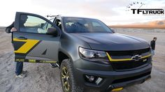 2015, chevy, colorado, z71, performance, concept, sema, show