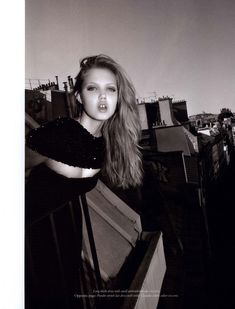 Lindsey Wixson for Purple Fashion F/W 2010 by Olivier Zahm