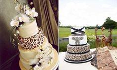 Os bolos de casamento estampados garantem aquele toque especial que muitos buscam para o seu grande dia (Foto: Divulgação)