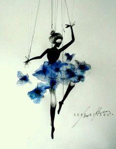 Ballet, dance, marioneta. <3