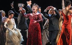"""Anna Netrebko makes her long-awaited debut as the scheming wife in """"Macbeth,"""" at the Metropolitan Opera."""