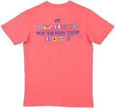 Southern Tide Nautical Flags T-shirt