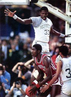 Collegiate Titans Square Off, '84.
