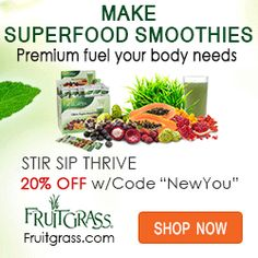Fruitgrass Superfood Smoothie booster Kit