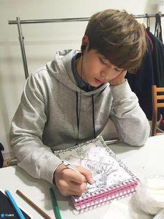 Sungjae drawing