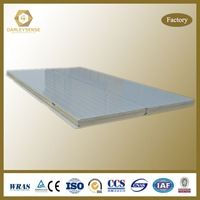 Rock wool sandwich panel with steel plate for building Plant, Workshop, Factory