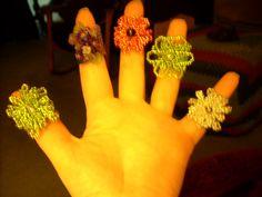 Handmade rings. louisebsedigns 2012
