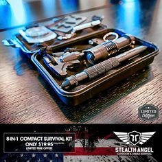 We have hand-selected each high-quality item in this kit to specifically cover the widest range of scenarios.  GET IT NOW  70% OFF  Only $19.95  60-Day Money-Back Guarantee  Buy 3 Get 1 Free (Limited Time Offer)  Exclusively From Stealth Angel Survival