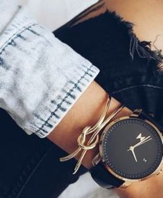 pulsera dorada moda