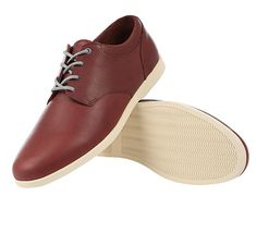 Clae - Evans Schuh oxblood leather