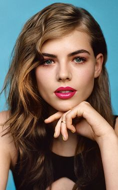Makeup Trends: 2 TopShop Beauty Summer 2014 Looks: Fuchsia Lips, Coral Smoky Eyes And White Eyeliner, Matte Red Lips Matte Red Lips, Hot Pink Lips, Matte Lipstick, Purple Lipstick, Bright Lipstick, Lipstick Brands, Dark Lips, Glossy Lips, Pink Eyes