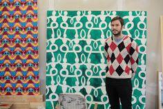 How Artist Christoph Ruckhäberle Seamlessly Fuses Art, Cinema, & Print | The Hundreds