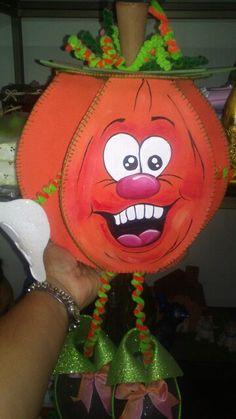 Dulcero halloween de goma eva
