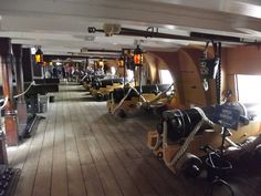 HMS Victory - Portsmouth Historic Dockyard - Upper Gun Deck - cannons | Flickr - Photo Sharing!