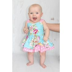 Baby Poppy's Peekaboo Dress PDF Pattern by Create Kids Couture PDF Sewing Pattern