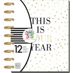 Get the Create 365™ The Medium Happy Planner™, This Is Your Year at Michaels.com. Add your daily thoughts, ideas or experiences in this beautiful planner from Me & My Big Ideas.