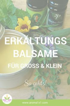 Cold Balm Recipes For Children & Adults AROMA - Cold balms improve free breathing and help gently clear the airways. Diy Kid Crafts For Boys, Diy Nature, Natural Cough Remedies, Sleeping Through The Night, Winter Hairstyles, Young Living Essential Oils, Natural Medicine, Natural Healing, Doterra