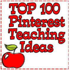 Top 100 Pinterest Teaching Ideas & Lakeshore Learning Center Give-Away!