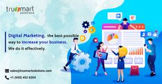 Build your brand and generate leads online. Discover digital marketing services from Trusmartsolutions. Digital Marketing Services, Online Marketing, Search Engine Marketing, Build Your Brand, S Mo, Pewdiepie, Lead Generation, Search Engine Optimization, Business