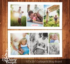BUY 1 GET 1 FREE Family Blog Board & 10x20 5x10 450 by DonyDesigns