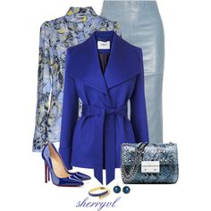 """""""Beautiful Blue"""" by sherryvl on Polyvore"""