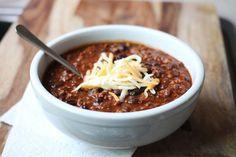Picture of black bean chili recipe