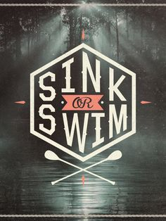 SINK OR SWIM Art Print by Wesley Bird
