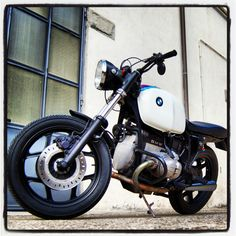 "BMW r80 St year 1986 customized by Luca Domenichelli . ""Speciali M3P"" (My Motorbike My Pride)"