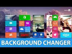 The Best Windows 8 Start Menu Background Changer Best Windows, Windows 8, The Big C, Good Things, Technology, How To Make, Beautiful, Tech, Tecnologia