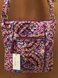 ed79a13e6409 Vera Bradley Iconic Hipster Purse in Dream Tapestry Brand New With Tags   fashion  clothing