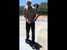 Old man skateboard tricks - kick flip, sissy pop - YouTube