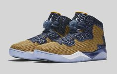 9th March. Mark it in your diary! Gold Leaf Jordan Spike Forty. http://ift.tt/1maC7of