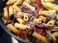 Recipes from 4EveryKitchen: Steak & Mushroom Pasta
