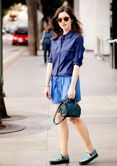Get Bright! Easy Color Combos To Try For Summer via @Who What Wear