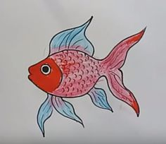 How to Draw a Fish Step by Step Tutorial for Kids - Want to learn how to draw a fish? I'm sharing the simplest tutorial that will show you that through video tutorials. Easy drawing for children (kindergarten, kindergarten, first grade …) and for those who have just started … Please see the detailed tutorial video below Some... - https://htdraw.com/wp-content/uploads/2018/03/How-to-draw-a-fish-step-by-step.png - Want to learn how to draw a fish? I'