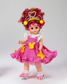 "Fancy Nancy Bonjour Butterfly - 8"" collectible Madame Alexander doll"