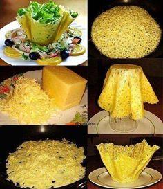 Una forma original y deliciosa de presentar una ensalada