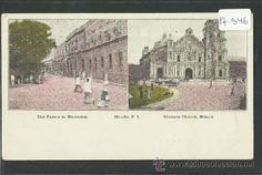 MANILA - THE PALACE IN MOURNING , BINONDO CHURCH - MANILA PI - (17346) (Postales - Postales Extranjero - Asia - Filipinas)