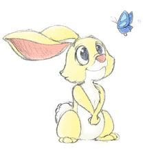Images For > Baby Winnie The Pooh Characters Rabbit