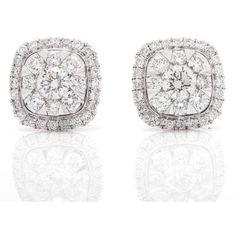 Earrings – Pratiksha Jewelry ($1,250) ❤ liked on Polyvore featuring jewelry, earrings, stud, earring jewelry, stud earrings and studded jewelry