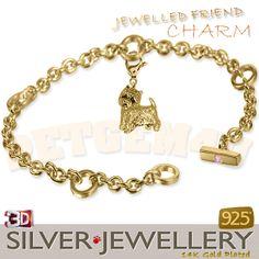 westie charm jewelry