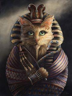 Custom Dog Portraits, Pet Portraits, Big Cat Rescue, Orange Cats, Cat Art, Cat Lovers, Dog Cat, Sculpture, Painting