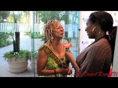Honor to be at #CARRY Shall We Dance Gala #RedCarpetReport's @Linda Antwi http://ht.ly/kXpPy talks w/ Thelma Houston #AtRiskYouth