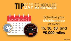 #TipOfTheDay: Your #car needs periodical maintenance.