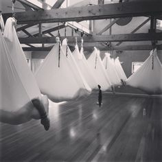 Relax-zen aerial yoga in Byron Bay