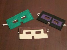 Minecraft Inspired Dress Up Costume Masks felt by Created4Fun