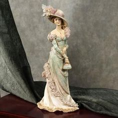 Victorian Lady...<3...wish I had a whole curio filled with these pretty ladies!