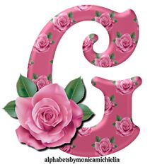 Alphabet Letters Design, Alphabet Style, Flower Alphabet, Flower Letters, Alphabet Art, Alphabet And Numbers, Flower Frame, Monogram Letters, Alphabet Wallpaper
